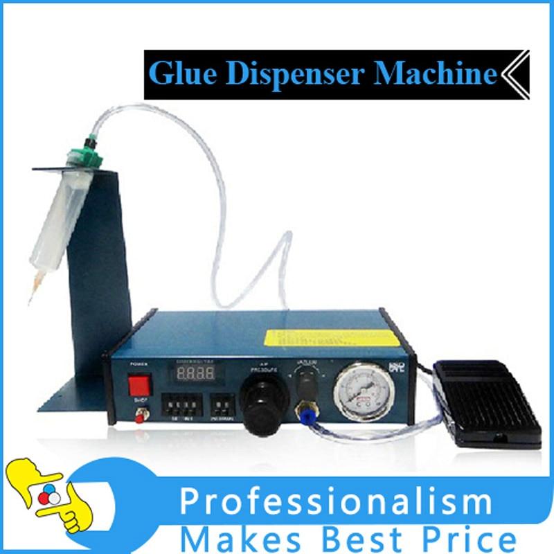 220v Glue Dispenser machine Solder Paste Liquid Semi Automatic Dispensing Machine Controlling Dropper 983A 11 11 free shippinng 6 x stainless steel 0 63mm od 22ga glue liquid dispenser needles tips