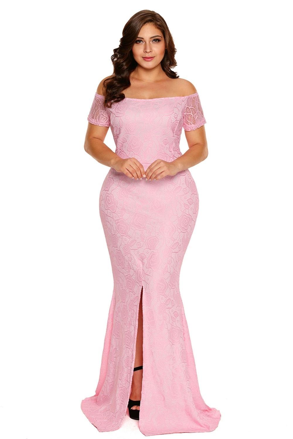 Sirena Más El tamaño vestidos xxxl vestidos de noche largos para las ...