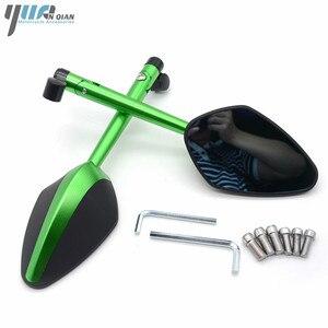 Image 3 - YUANQIAN Honda CBR 600 RC51 CB600F CBR250R MSX125 PCX 125 150 NC750 CB600 Evrensel Yan Ayna Scooter Dikiz Aynası