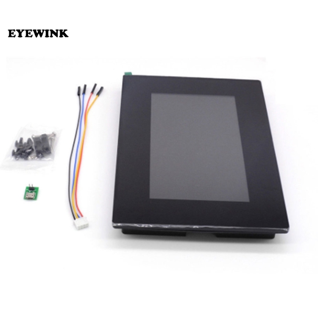 "7.0 ""Nextion تعزيز HMI ذكي USART UART المسلسل TFT وحدة عرض LCD مقاوم أو لوحة سعوية تعمل باللمس ث/الضميمة"