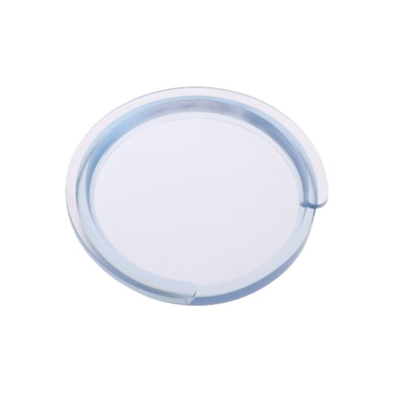 38394041 Acoustic Guitar Sound Hole Cover Transparent Silica Gel Silencer #20/24W