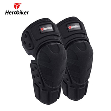 HEROBIKER Motorcycle Riding Knee Protector Bicycle Cycling Bike Racing Knee Pads Tactical Protective Gear Extreme Sports Support
