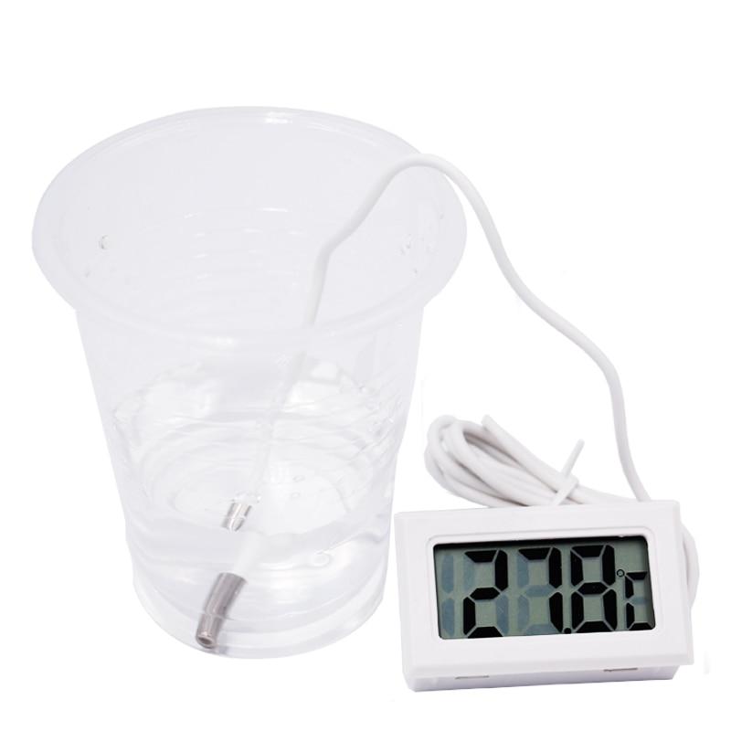 Digitální LCD sonda s mrazničkou, teploměr, teploměr, termograf - Měřicí přístroje - Fotografie 3