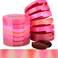 5 Colors/set Blusher Set Pink Orange Round Makeup Blush Blusher Powder Palette