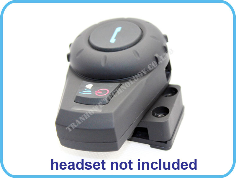 Halterung für FreedConn VB 500 Mt Motorrad BT Bluetooth Multi Interphone Headset Helm Intercom Handfree
