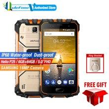 Ulefone Zırh 2 IP68 Su Geçirmez Cep Telefonu Android 7.0 5.0