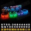 EL emissor de luz-light-emitting brinquedos óculos óculos óculos de brinquedo luminoso brinquedo decorado persianas luz fria