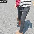 2015 Korean Style Autumn And Winter False Two Side Zipper Joker Bag Hip Render Women Legging Culottes Women Free Shipping H8872