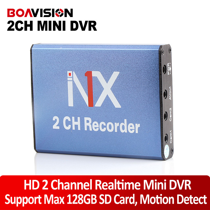 Mini DVR Recorder Support SD Card 128GB Real time 25fps 2Ch DVR Board MPEG-4 Video Compression Motion Detection VGA 640*480 write your own book
