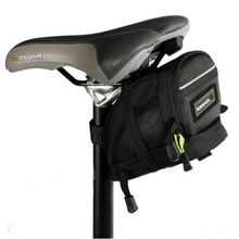 Bike Tail Bag Quick Release Bicycle Seat Saddle 1680D Fabric Rear Extensible Bag Size M