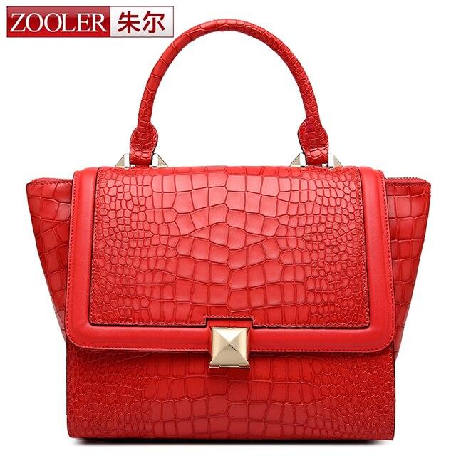 Zooler Bags Handbags Women Famous Brands Leather Bag First Class Top