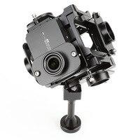 EKENCAM аксессуары для Yi 360 градусов VR панорамный кронштейн Rig аксессуары Поддержка для Xiaomi Yi 4k Спорт камера крепление 6 Камера s