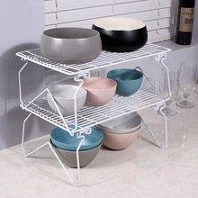 YONTREE 1PC 1 Layer Superimposed Kitchen Seasoning Rack Detachable Dish Drain Holder H9134