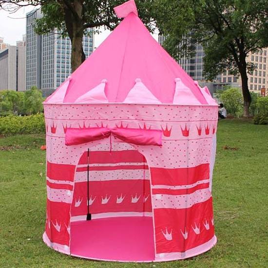 Tente de mode pour les enfants jouent maison de jeu princesse Prince château tentes de plage jouets d'intérieur en plein air