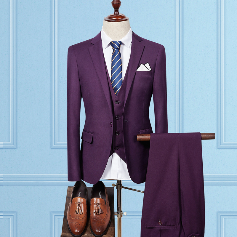 Cheap Men Suits 2017 Latest Coat Pant Vest Design Suits Mens ...