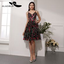 Alagirls New Designed Knee-Length Homecoming Dress 2019 Elegant Short Prom Dresses Graduation Party Sexy Cocktail