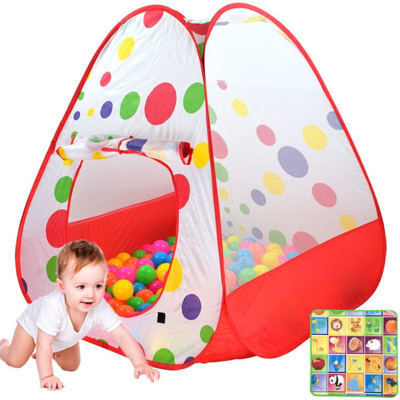 Portable Baby Activity Playpen Children Playhouse Tents Various Stars Kids Safety Playground Fence Baby Ocean Balls Pool Playpen
