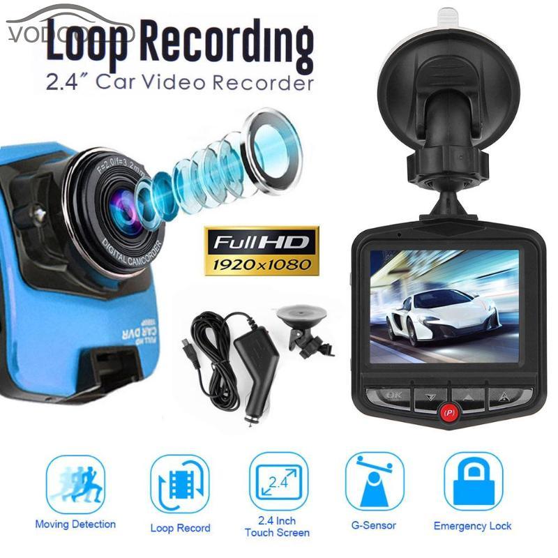 2 4 TFT Car DVR font b Camera b font Camcorder 1080P High Definition Digital Video
