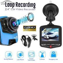 2,4 «TFT Видеорегистраторы для автомобилей Камера видеокамера 1080 P Высокое разрешение цифрового видео Регистраторы регистратор авто щит Ночное видение регистраторы