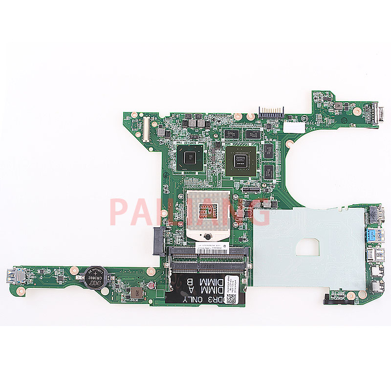 PAILIANG Laptop motherboard for DELL 14R Inspiron 5420 I5420 P33G PC Mainboard 0HMGWR DA0R08MB6E4 DA0R08MB6E2 tesed
