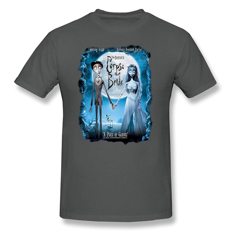 Shirt design companies - Company T Shirt Design Tim Burton S Corpse Bride Comfort Soft Men S Comfort Soft O Neck