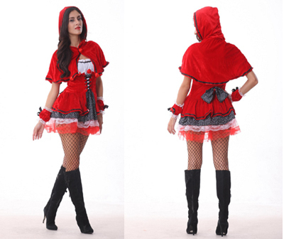 Free Shipping Newly Fashion Red Cute Women Halloween Costume Party Time Deluxe Little Red Riding Hood Costume Cosplay Costume on Aliexpress.com   Alibaba ...  sc 1 st  AliExpress.com & Free Shipping Newly Fashion Red Cute Women Halloween Costume Party ...