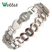 2014 gift for men  black carbon fiber high polished stainless steel sport bracelet men цены