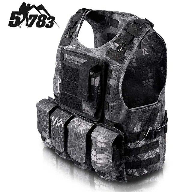 51783 ապրանքանիշ FSBE Vest Hunting Army CS Paintball Go - Սպորտային հագուստ և աքսեսուարներ - Լուսանկար 6