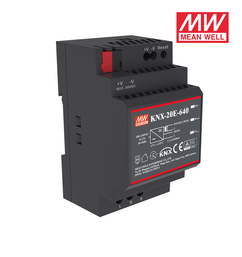Offres spéciales signifie bien KNX-20E-640 19.2W 30V 640mA meanwell KNX-20E 180-264VAC alimentations à découpage