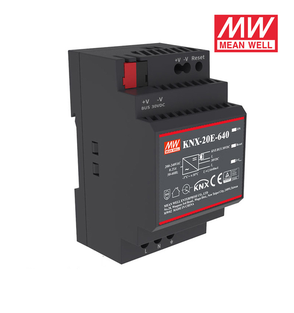 Smoothly MEAN WELL KNX 20E 640 19.2W 30V 640mA meanwell KNX 20E 180 264VAC Switching Power Supplies