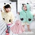 2016 moda combinação bebê meninos meninas blusas casacos de algodão casaco de roupas de crianças Poncho capa 42071