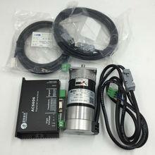 Leadshine 130 Вт бесщеточный Серводвигатель постоянного тока+ комплекты привода постоянного тока BLM57130-1000+ ACS606 5.3A 36VDC 0,41 нм 3000 об/мин импульсный контроль