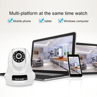 Full HD 1080P Camera WifI IP Camera PTZ 4x Digital Zoom Security Camera Support Micro SD Card CMOS P2P 2MP CCTV