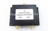 1 PC SMA żeński 2 Way Splitter Zasilania Dzielnika wilkinson Sumator 700-2700 MHz 50 W mikro taśmy