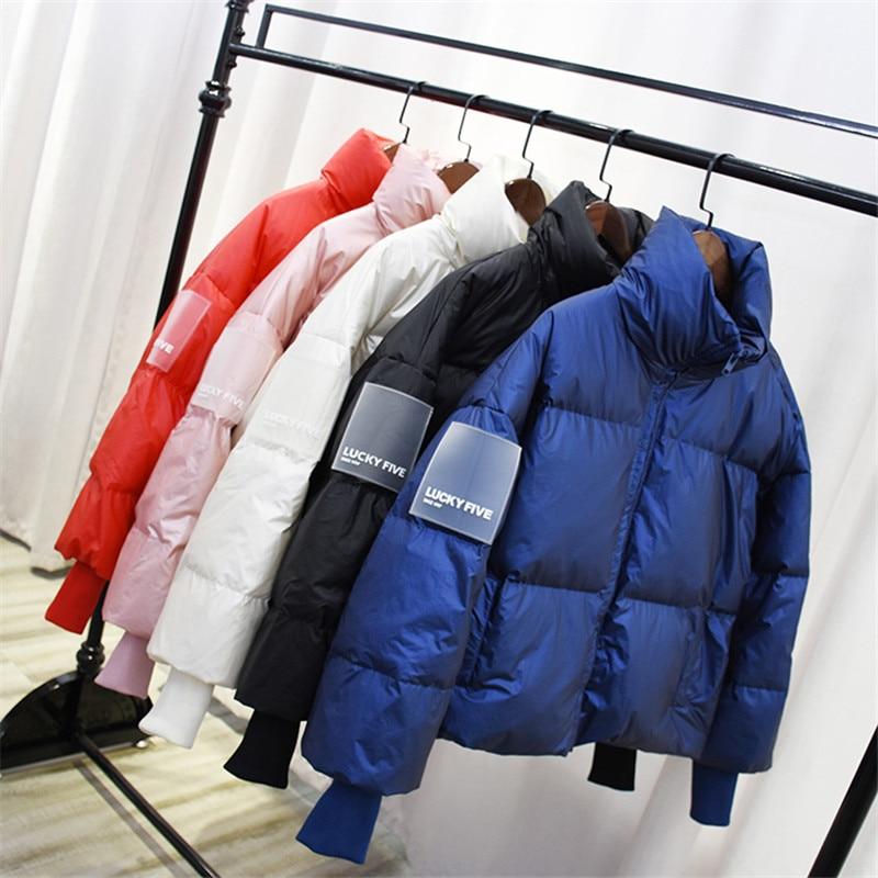 Fashion Oversize Women   Parka   2018 Winter Jacket Women   Parkas   Cotton Padded Jacket Warm Female outerwear short wadded Overcoat