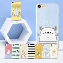 Coque Cute Hippo case for iPhone 5S Soft TPU Cover Funda SE Bear Case 5 Phone