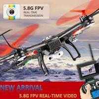 Jjrc V686 Rc Quadcopter With Camera Fpv Remote Control Drone With Camera HD Professional Drones Electric