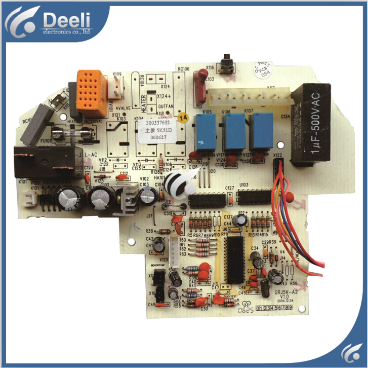 95% new good working for air conditioner control board motherboard 5K51D 300557602 GRJ5K-A2 on sale 95% new good working for motherboard 5k53d 300557612 gr5k 1h grj5k a2 computer board control board on sale