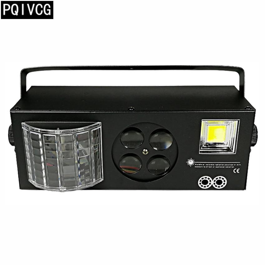Laser pattern beam strobe 4in1 efftec light dmx512 dj light bar KTV special effect light