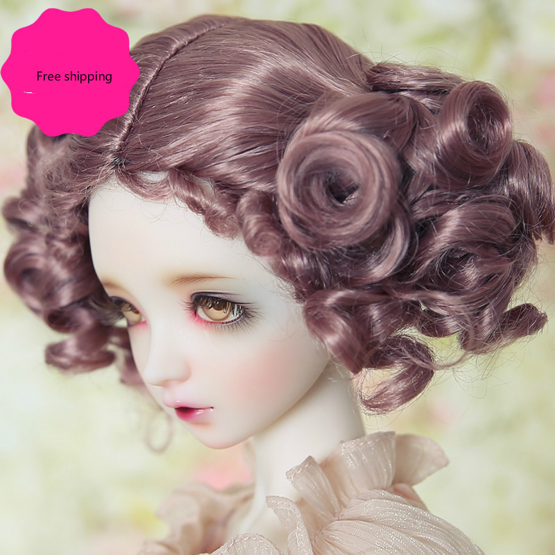 1/3 1/4 1/6 1/8 BJD wigs Synthetic mohair SD dolls - sd16 sd10 sd13 yosd msd аксессуары для детей
