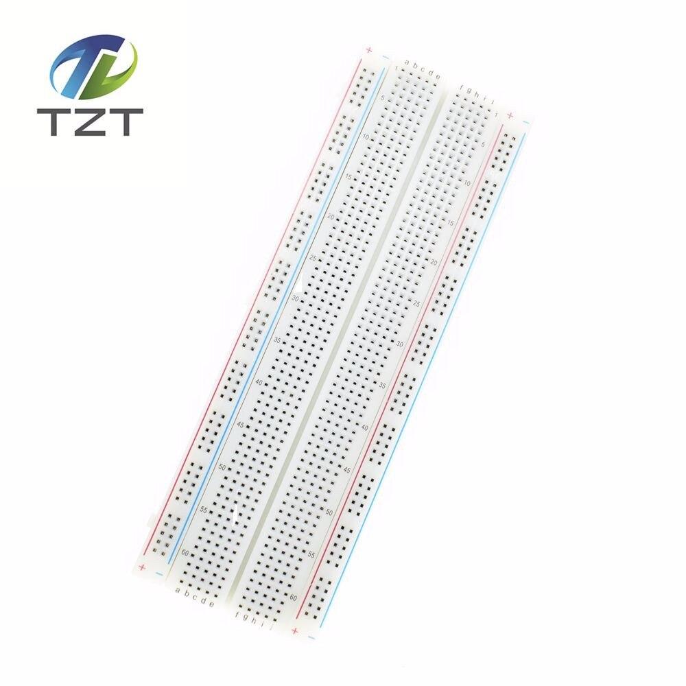 SHIPPING 1pcs Breadboard 830 Point PCB Board MB 102 MB102 Test Develop DIY kit nodemcu font