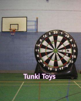 3 metry nadmuchiwana piłka nożna dart piłka nożna tanie i dobre opinie 6 lat Cloth Inflatable Playground TKFD Plac zabaw na świeżym powietrzu Ball Pool