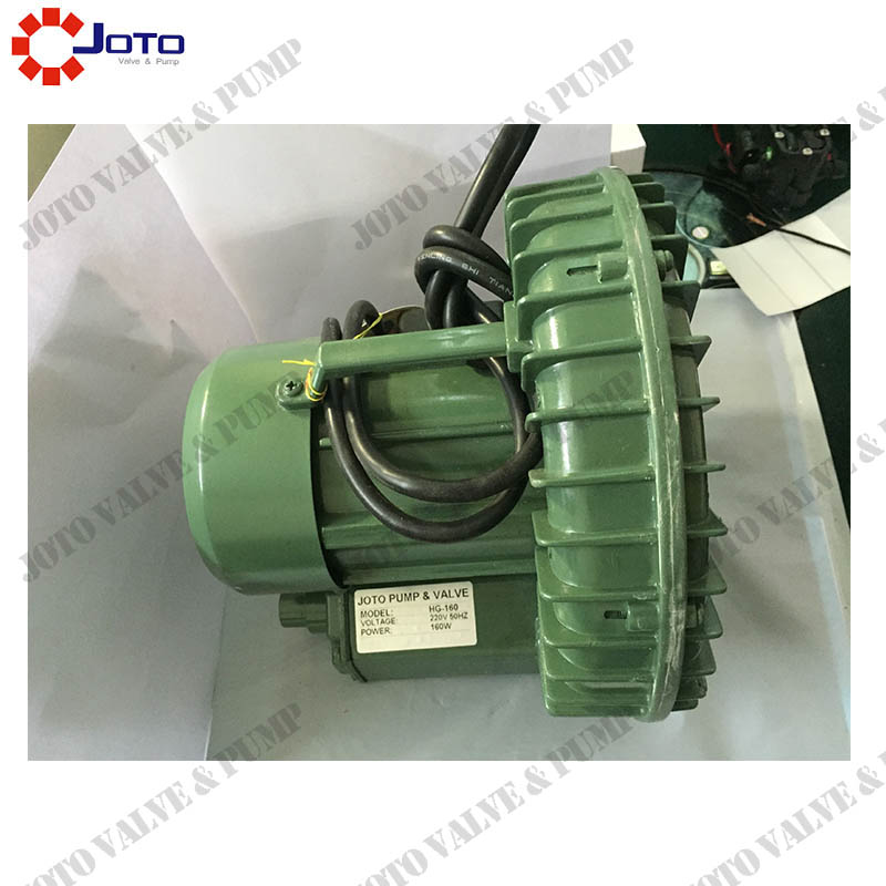 220V/50HZ 0.16kw Ring Vortex Blower 19M3/H High Pressure Air Pump jqt1500c 1 5kw high pressure air blower ring blower