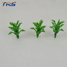 wholesale 1/100 scale 4CM ABS plastic model plant for architectural building train layout