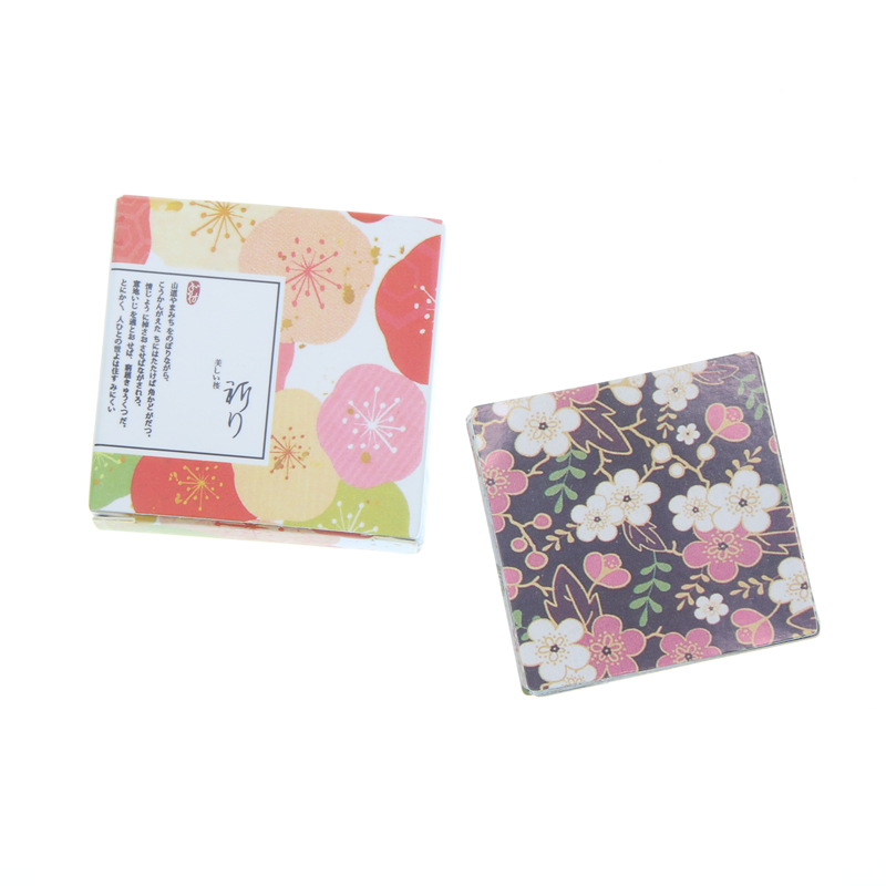 40 Pcs/box Japanese Style Bright Colorful Stationery Flowers Paper Sticker Decorative Diy Diary Scrapbooking Sealing Stickers fashion colorful flowers and riding girl pattern removeable wall stickers