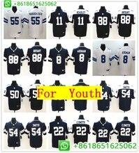 0288c319f03 top Youth Dallas Sean Lee Randy White Cole Beasley Jaylon Smith Leighton  Vander Esch Dez Bryant Vapor Untouchable Jersey Shirts