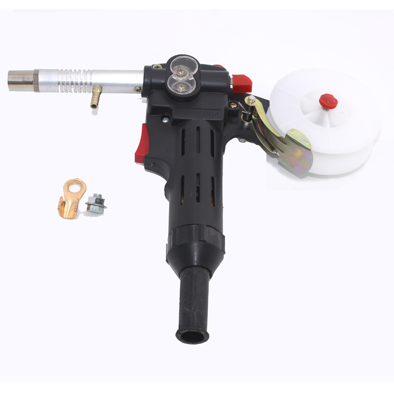 MIG welding machine Spool Gun Push Pull Feeder Aluminum copper or stainless steel DC 24V Motor Wire 0.6-1.2mm Welding Torch/Gun mig wire feeder motor 76zy02a dc24v 18m min for mig welding machine