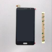 5.5 新 highscreen ため alcatel ポップ 4 S 5095 18K 5095y ot5095 タッチスクリーンデジタイザガラスセンサー + 液晶ディスプレイパネル画面