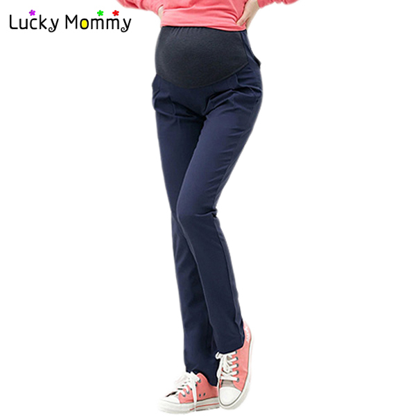 Fashion Autumn New Maternity Pants for Pregnant Women Elastic Belly Trousers Maternity Clothes Clothing Pregnancy Pants