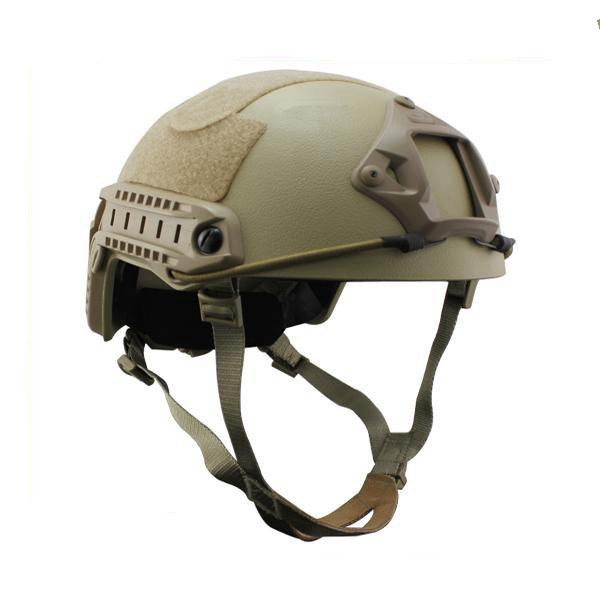 Cheap Fast MH NIJ IIIA Kevlar Ballistic Helmet Tactical Hunting Bulletproof Helmet